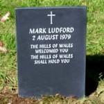 Aberllefenni Welsh slate memorial