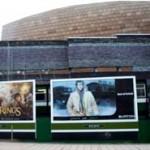Aberllefenni slate walling Millenium Centre Cardiff
