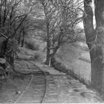 Corris Railway line at Aberllefenni